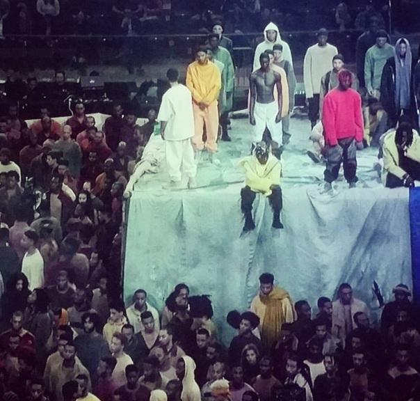 Yeezyseason2016 Kanye's fashion show- Westpoppn.com
