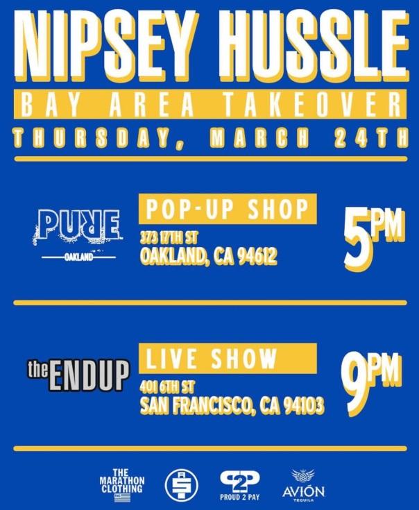 Nipsey Hussle in Oakland - Westpoppn.com