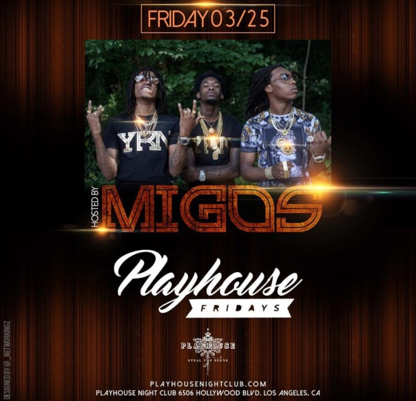 Migos - Westpoppn at the play house, Los Angeles