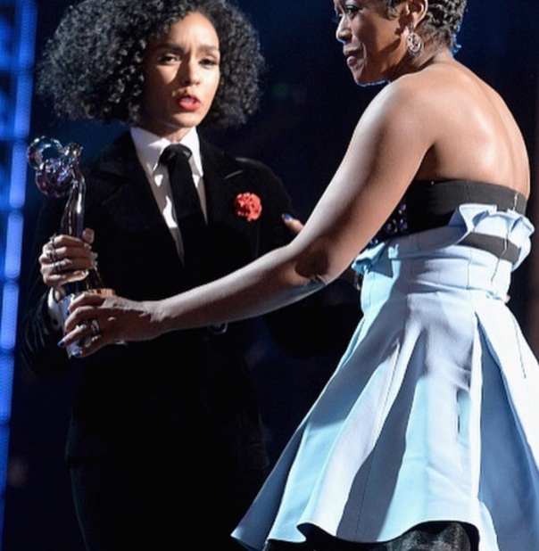 Janelle Monae & melody Hobson getting bet honors award- Westpoppn.com