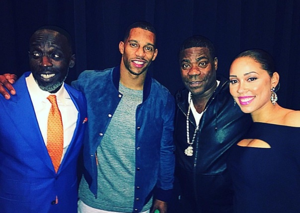 Westpoppn.com - Michael k williams, Victor cruz, Tracey & his girl