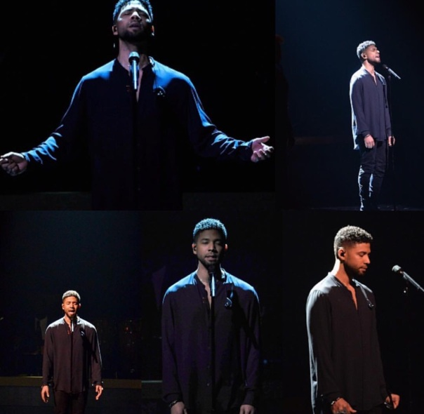 Jussie Smollett performs at the #BETHonors2016 Westpoppn.com