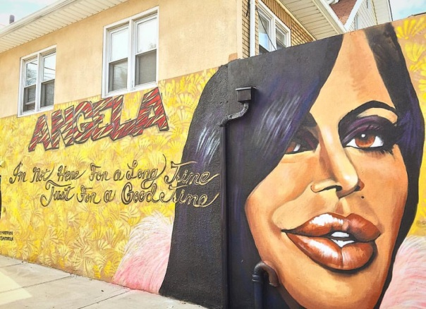 Big Ang #RIP wall mural dedication on Forrest avenue, Staten Island- Westpoppn.com