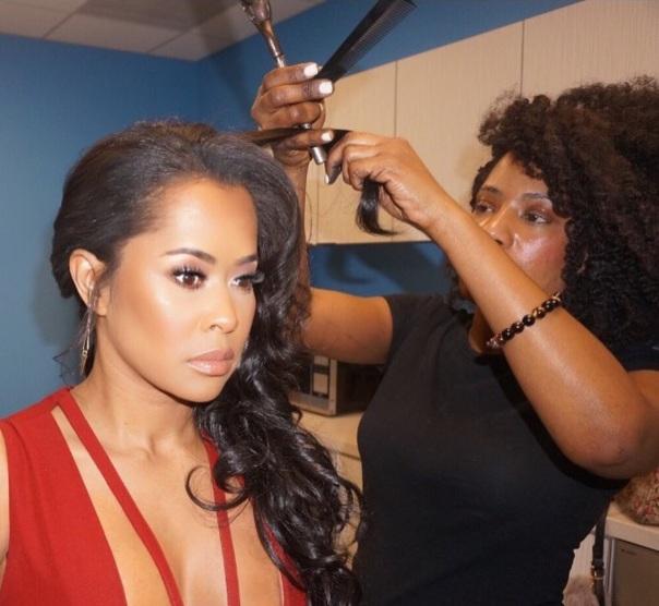 Lisa & celebrity Hair Stylist Havona - Westpoppn.com