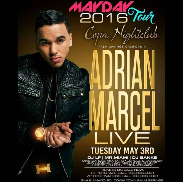Westpoppn.com - Adrian marcel performing at Copa Night cl