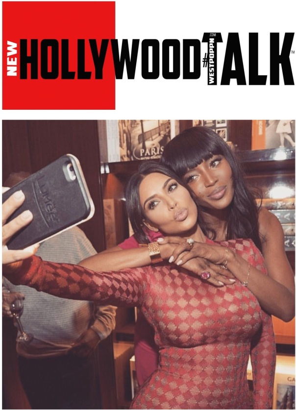 Naomi Campbell book launch at taschen bookstore +Kim kardashian WESTPOPPN.com