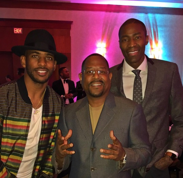 Westpoppn.com - Jamal Crawford, Martin Lawrence, chris Paul,