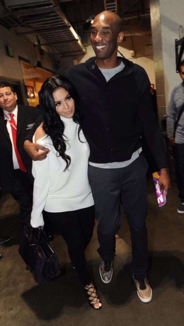 Lakers - Kobe and Vanessa Bryant - Westpoppn.com