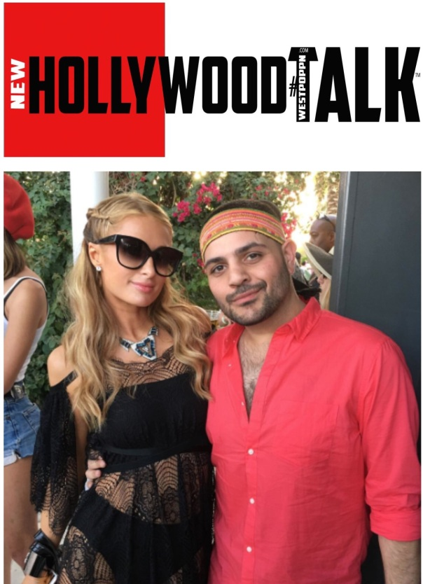 Paris Hilton and michael Costello -