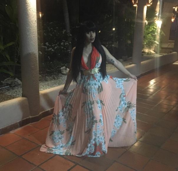 Cardi B in Barbados - Westpoppn.com