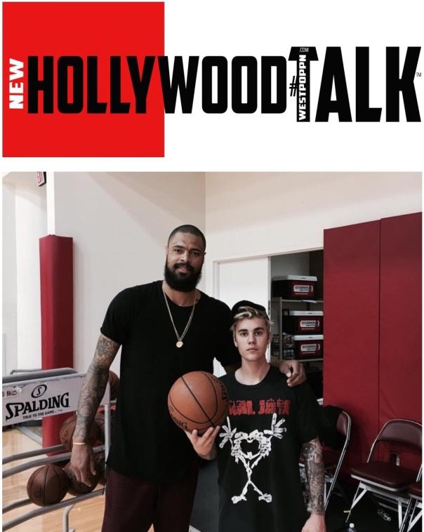 Tyson chandler and justin Bieber - WESTPOPPN.Com