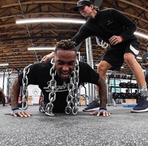 Desean Jackson work out - Westpoppn.com