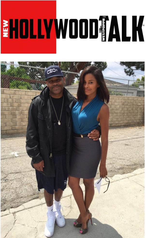 Dame dash and claudia Jordon - Steele justice movie - Westpoppn.com