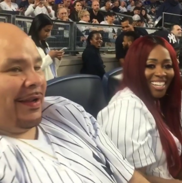 Yankees Stadium w/ Remy Ma, Fat Joe & Papoose - Westpoppn.com