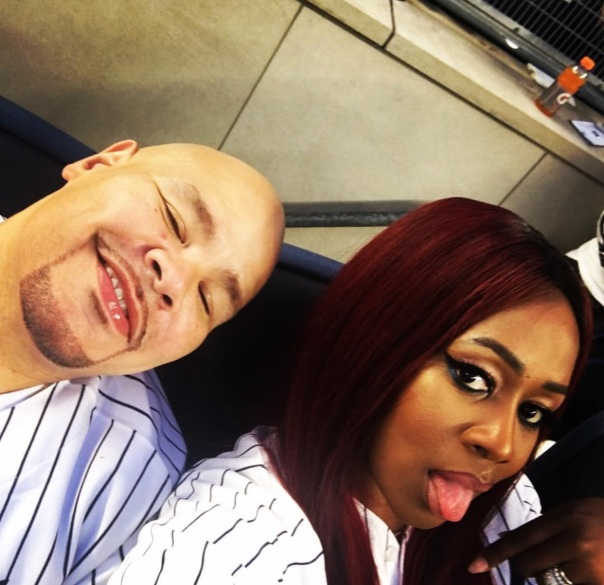 Fat joe and Remy ma - Yankees stadium - Westpoppn.com