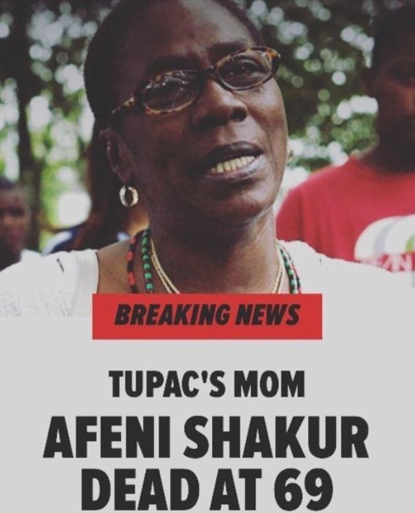 Tupac mom dies at 67 - Westpoppn.com