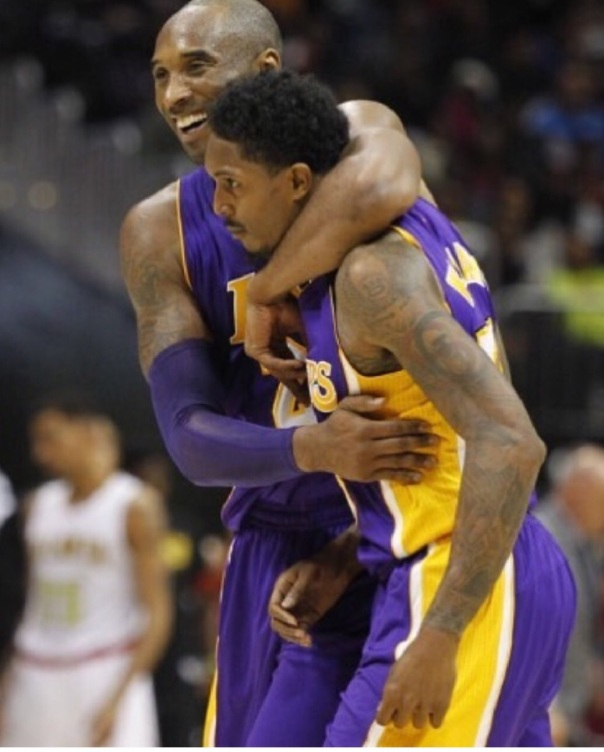 Kobe and Lou williams on the LAKERS - Westpoppn.com