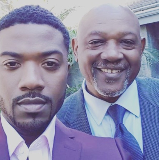 Ray j & his dad for Father's Day- Westpoppn.com