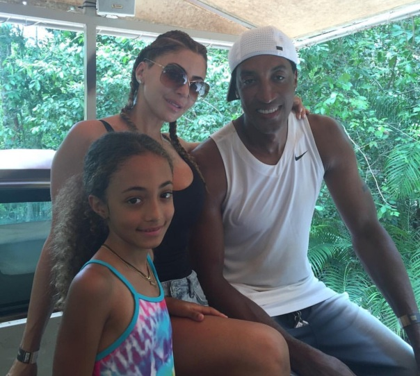 Scottie pippen & family / Westpoppn.com
