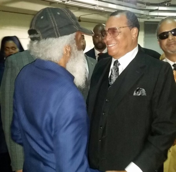 Dick Gregory and louis Farrakhan - Westpoppn.com