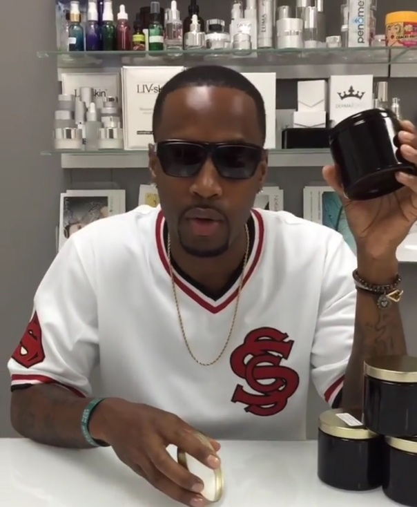 Safaree -coconut oil - Westpoppn.com