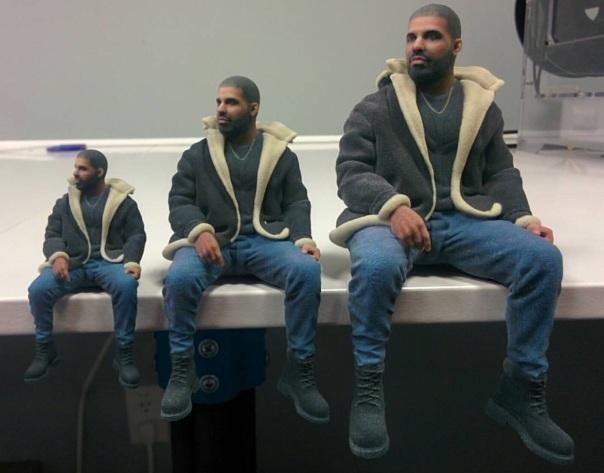 drake- 3D Mini Me Sculptures -Westpoppn.com