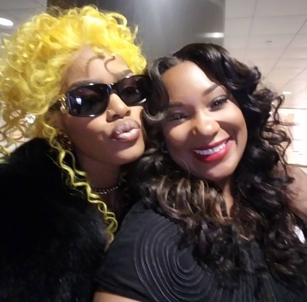 Mia X and Teyana Taylor - WESTPOPPN.com