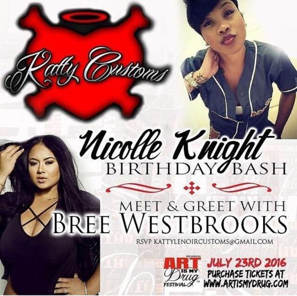 Bree west rooks birthday bash - Westpoppn.com
