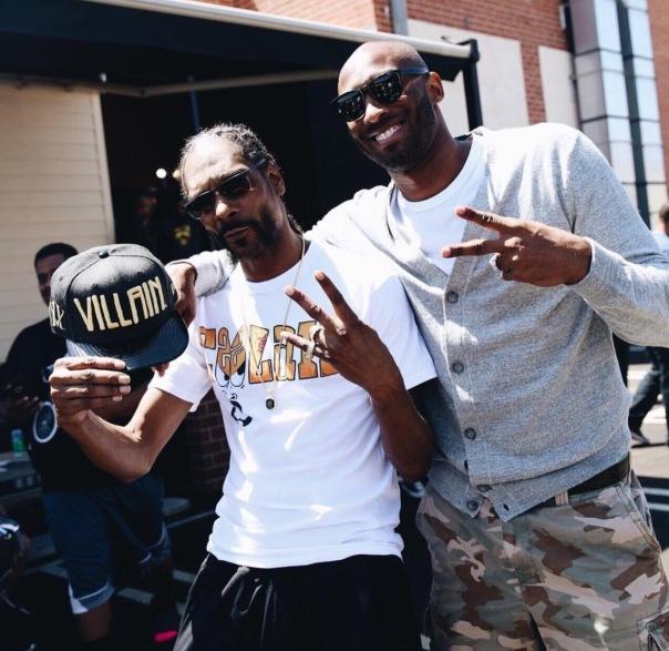 Snoop dogs and Kobe Bryant #Lakers - Westpoppn.com