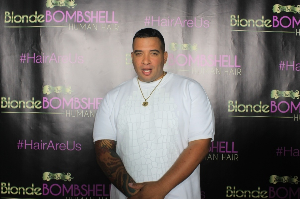 JASON LEE (Hollywood Unlocked) #HairRUs NikkiiBaby #BlondeBombShell Hair Launch - WESTPOPPN.COM