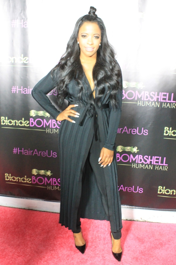Jessica Rich #HairRus #BlondeBombshell Nikkiibaby hair launch - WESTPOPPN.COM