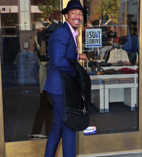 nick cannon partners with the NATIONAL SUIT DRIVE -Westpoppn.com