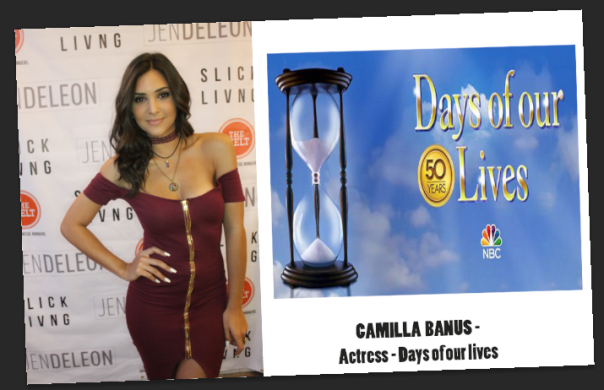 CAMILLA BANUS -Days of our lives - Slick Living Takeover Party -Khloe Thomas - WESTPOPPN.COM
