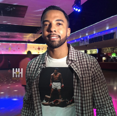 Christian Keyes - Meagan Good Birthday party - westpoppn.com