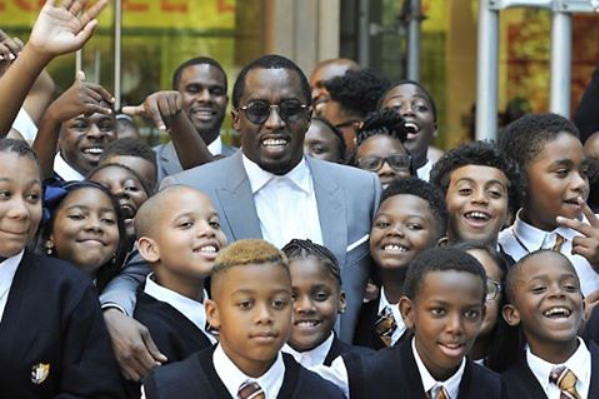 DIDDY OPENS UP A NEW CHARTER SCHOOL in East Harlem Today - WESTPOPPN.COM