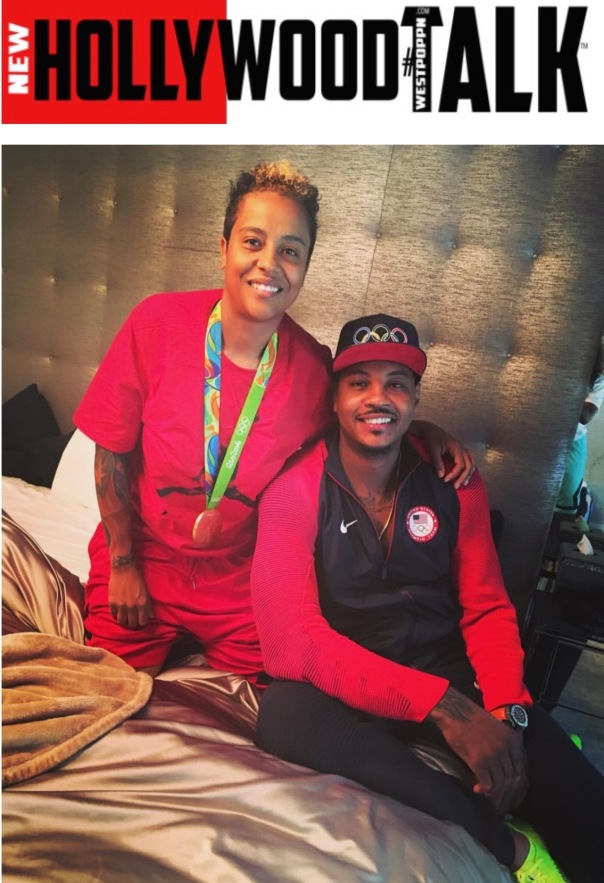 Dice and Carmelo Anthony #TeamUSA - WESTPOPPN.com