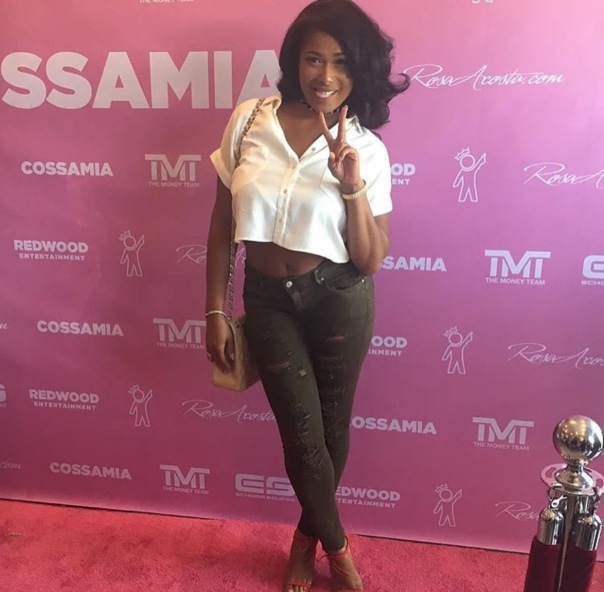Althea Heart at #Cossamia on Melrose Grand opening- Westpoppn.com
