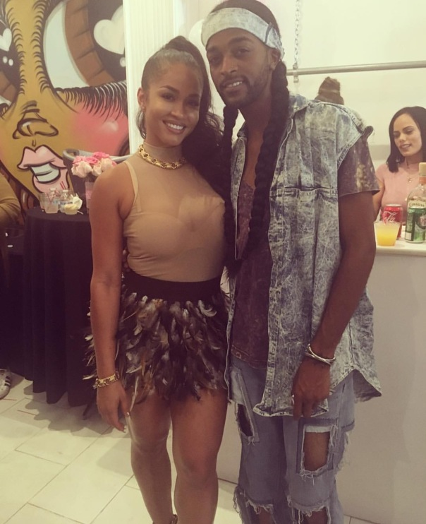 Rosa Acosta and Soulaire (fashion stylist & music Artist #Cossamia 1 year anniversary- WESTPOPPN.com