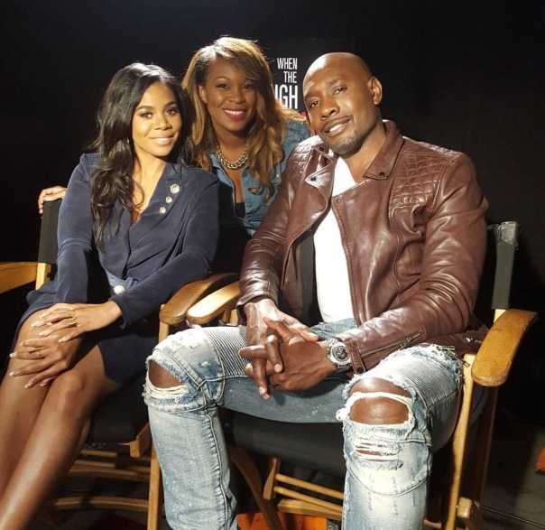 nia long, MOrris CHestnut & host Michelle Madison from BHL - WESTPOPPN.COM