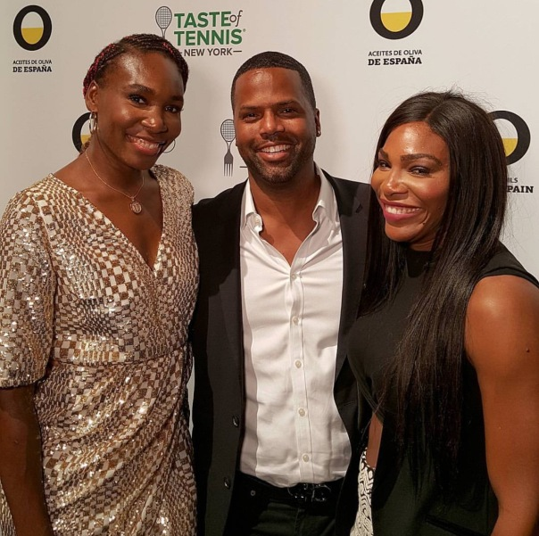 Aj Calloway & Serena Williams and Venus Williams -westpoppn.com