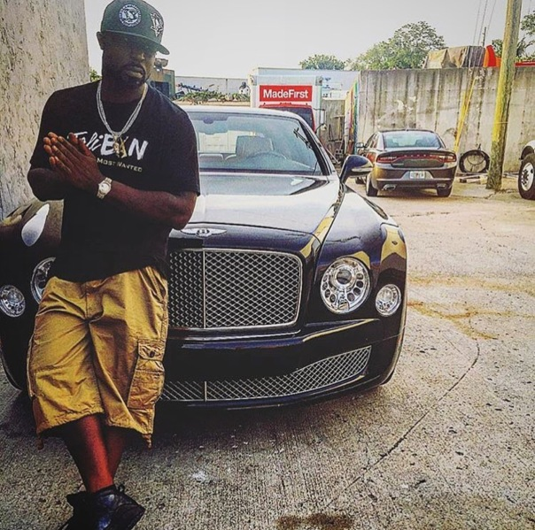 Young buck - may be doing some time. . 50cent just posted- Westpoppn.com