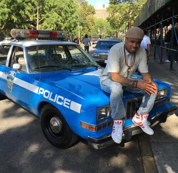 Mack wilds filming #TheBreaks in Brooklyn- WESTPOPPN.com