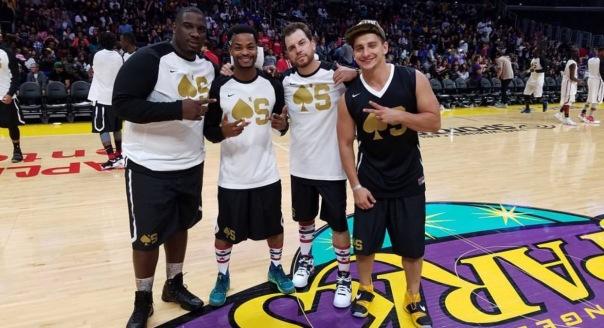 Celebrity basketball game - Westpoppn.com