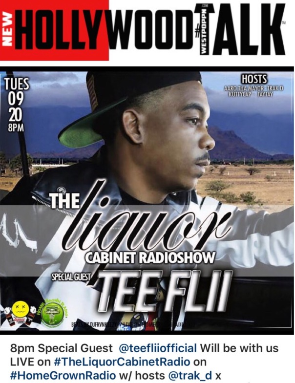 TEEFLII interview on #THELIQUORCABNET -Westpoppn.com