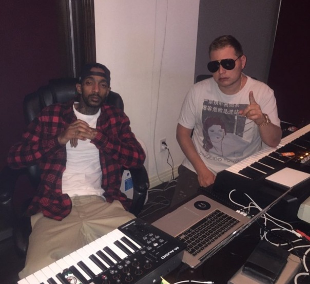 Nipsey Hussle and scott Storch - Westpoppn.com