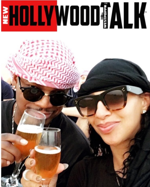 Singer Neyo and Crystal in Dubai - WESTPOppn.com