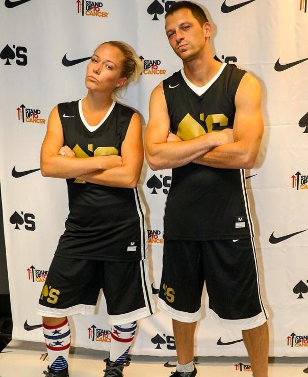 Kendra and Albie Manzo #BallForACause - WESTPOPPN.com
