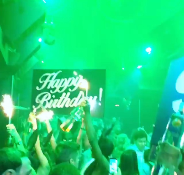 Rapper slim thug's birthday party - WESTPOPPN.com