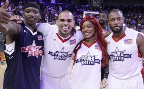 Westpoppn.com - Celebrity charity basketball game with Power 106