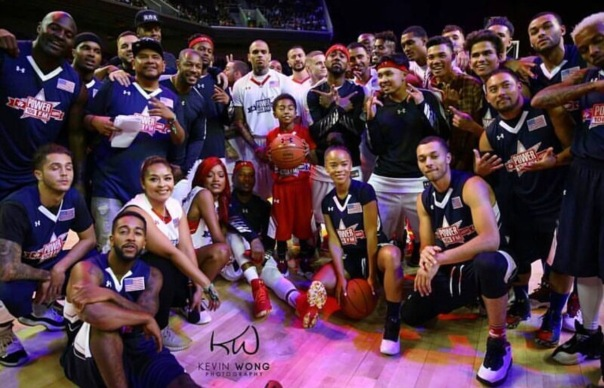 Westpoppn.com - Celebrity charity basketball game with Power 106 At the Galen center at USC